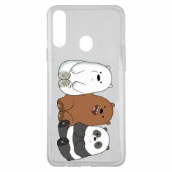 Чехол для Samsung A20s We are ordinary bears