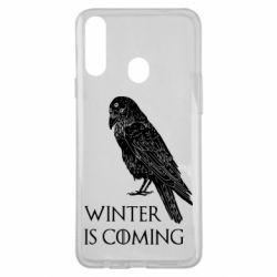 Чохол для Samsung A20s Winter is approaching and crow