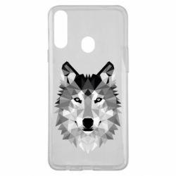 Чохол для Samsung A20s Wolf Art