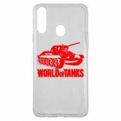 Чохол для Samsung A20s World Of Tanks Game