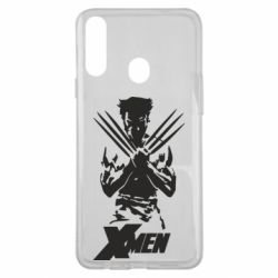 Чехол для Samsung A20s X men: Logan