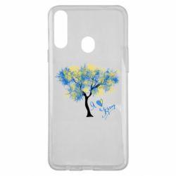 Чохол для Samsung A20s Я люблю Україну і дерево