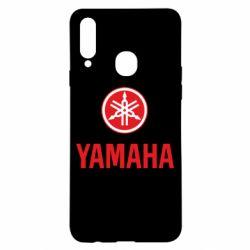 Чехол для Samsung A20s Yamaha Logo(R+W)
