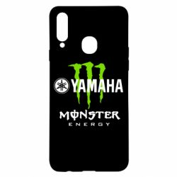 Чехол для Samsung A20s Yamaha Monster Energy