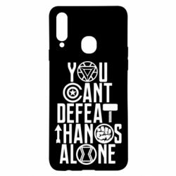 Чехол для Samsung A20s You can't defeat thanos alone