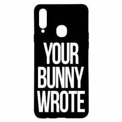 Чохол для Samsung A20s Your bunny wrote