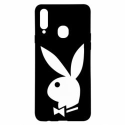 Чохол для Samsung A20s Заєць Playboy
