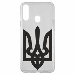 Чехол для Samsung A20s Жирный Герб Украины