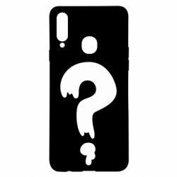 Чехол для Samsung A20s Знак Вопроса