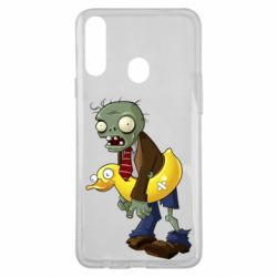Чохол для Samsung A20s Zombie with a duck