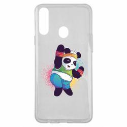 Чохол для Samsung A20s Zumba Panda