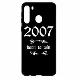 Чехол для Samsung A21 2007 Born to win