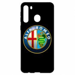 Чехол для Samsung A21 ALFA ROMEO