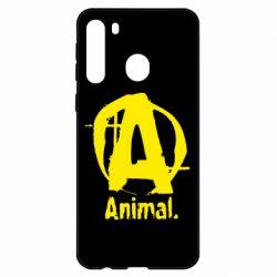 Чехол для Samsung A21 Animal