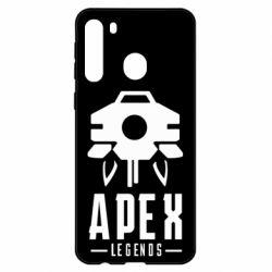 Чехол для Samsung A21 Apex Legends symbol health