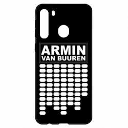 Чехол для Samsung A21 Armin Van Buuren Trance