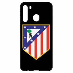 Чехол для Samsung A21 Atletico Madrid