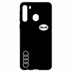 Чехол для Samsung A21 Audi Logo