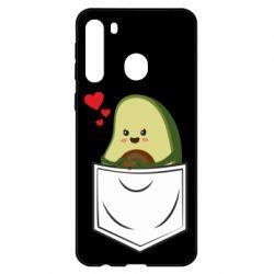 Чехол для Samsung A21 Avocado in your pocket