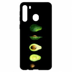 Чехол для Samsung A21 Avocado set