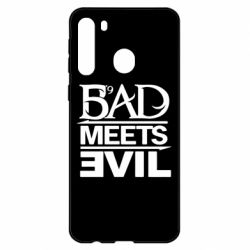 Чехол для Samsung A21 Bad Meets Evil