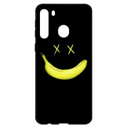 Чехол для Samsung A21 Banana smile