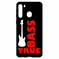 Чехол для Samsung A21 Bass True