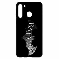 Чехол для Samsung A21 Batman: arkham city