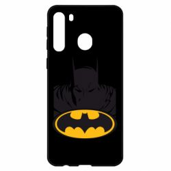 Чехол для Samsung A21 Batman face