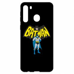 Чехол для Samsung A21 Batman Hero