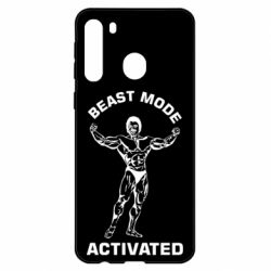 Чехол для Samsung A21 Beast mode activated