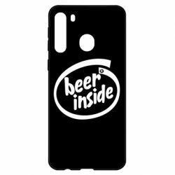 Чехол для Samsung A21 Beer Inside