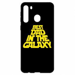 Чехол для Samsung A21 Best dad in the galaxy