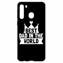 Чехол для Samsung A21 Best dad in the world