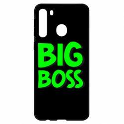 Чехол для Samsung A21 Big Boss