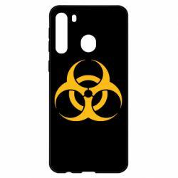 Чехол для Samsung A21 biohazard