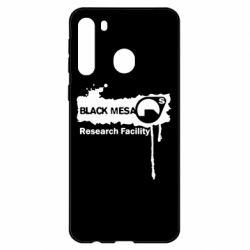 Чехол для Samsung A21 Black Mesa