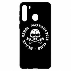 Чехол для Samsung A21 Black Rebel Motorcycle Club