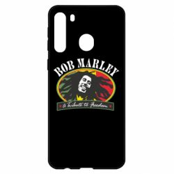 Чехол для Samsung A21 Bob Marley A Tribute To Freedom
