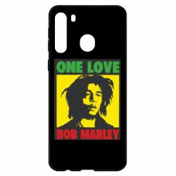 Чехол для Samsung A21 Bob Marley One Love
