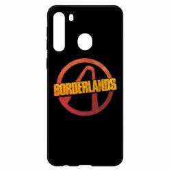 Чехол для Samsung A21 Borderlands logotype