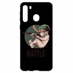 Чехол для Samsung A21 Born For Battle