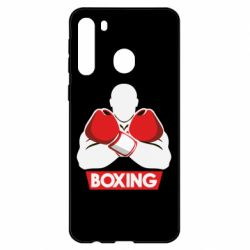 Чехол для Samsung A21 Box Fighter