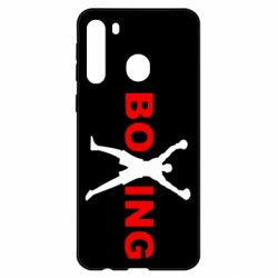 Чехол для Samsung A21 BoXing X