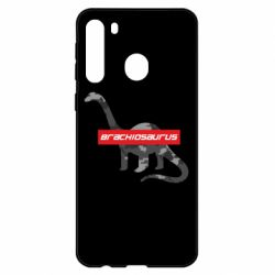 Чехол для Samsung A21 Brachiosaurus