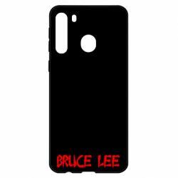 Чехол для Samsung A21 Bruce Lee