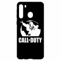 Чехол для Samsung A21 Call of Duty Logo