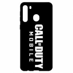 Чехол для Samsung A21 Call of Duty Mobile