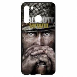 Чехол для Samsung A21 Call of Duty WWII