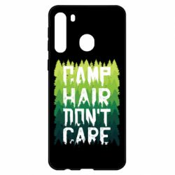 Чехол для Samsung A21 Camp hair don't care